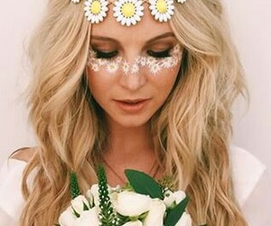 candice accola, flowers, and caroline forbes image