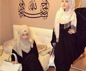 muslim, girl, and hijab image