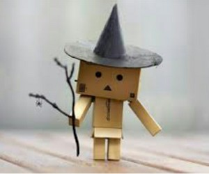 danbo, Halloween, and witch image