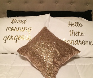 bed and gold image