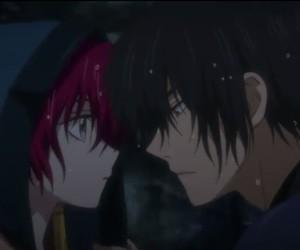 anime couple, hak and yona, and yona of the dawn image