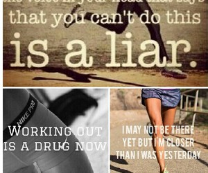 motivation, workout, and workhard image
