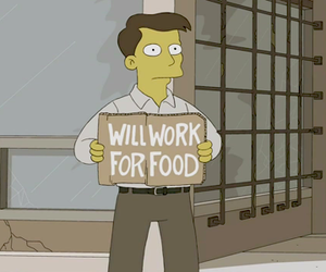bart simpson, funny, and homer simpson image