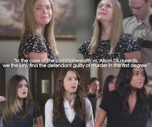 aria montgomery, spencer hastings, and emily fields image