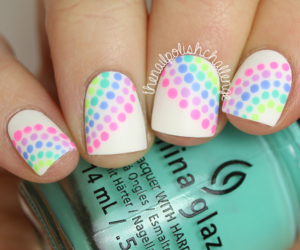 colour, nails, and nail art image