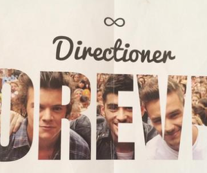 happy, 1d, and directioner image