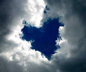 clouds and heart image