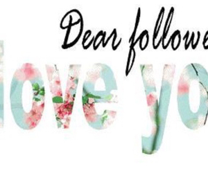 followers, love, and dear image