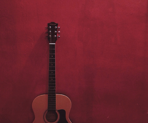 acoustic guitar, guitar, and life image