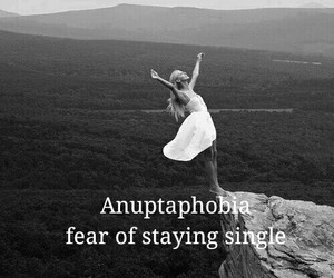 fear, phobia, and forever alone image