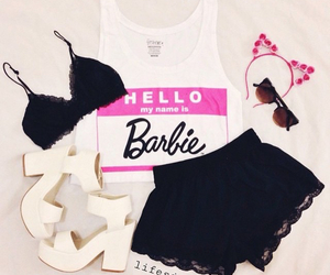 barbie, fashion, and outfit image