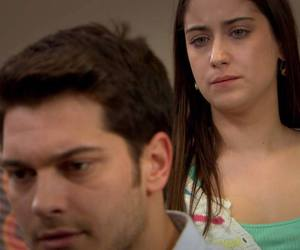 couple, hazal kaya, and feriha emir image