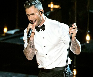 maroon 5, singer, and adam levine image