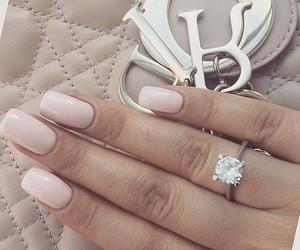 nails, ring, and bag image