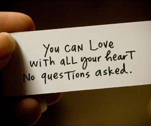 heart, quote, and no doubt image