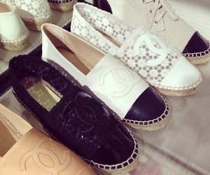 chanel, moda, and shoes image