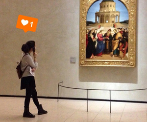 art, italy, and milan image