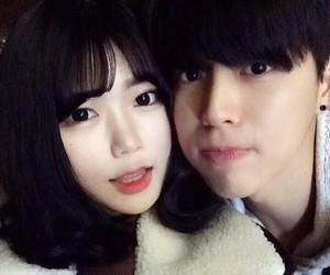 ulzzang, asian couple, and ulzzang couple image
