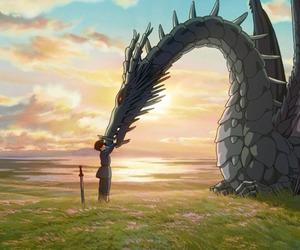 anime, dragon, and ghibli image