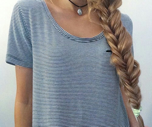 fashion, braid, and style image