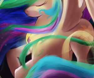 my little pony, ponei, and princess image
