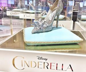 cinderella, disney, and shoes image