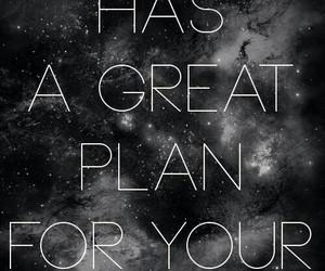 god, plan, and life image