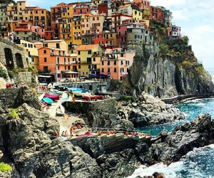 italy, cinque terre, and nature image