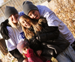 autumn and family image