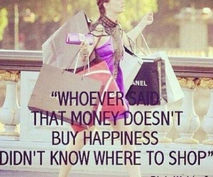 shopping, quotes, and blair waldorf image
