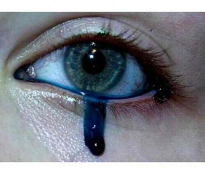 blue, cry, and crying image