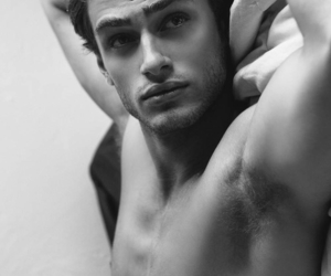 beautiful, black and white, and boys image