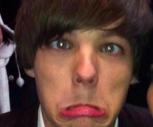 icon, louis tomlinson, and one direction image