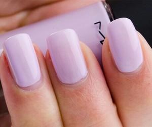 nails, purple, and mac image