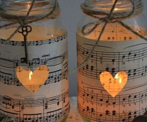 candles and diy image