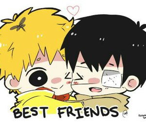 tokyo ghoul, best friends, and hide image
