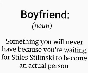 teen wolf, boyfriend, and stiles stilinski image