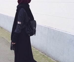 fashion, hijab, and muslim image
