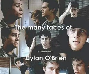 faces, teen wolf, and dylan o'brien image