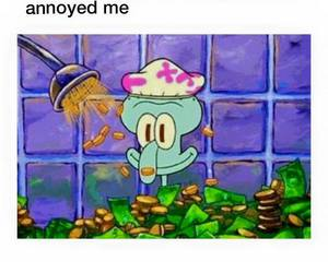 funny, money, and spongebob image