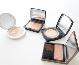 makeup and powder foundation image