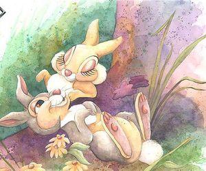 animals, cartoon, and rabbit image