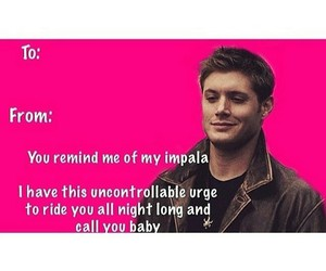 dean, funny, and impala image