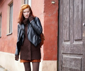 blogger, fashion, and brown image