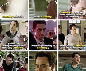 coach, danny, and teen wolf image