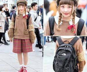 bag, Harajuku, and japan image
