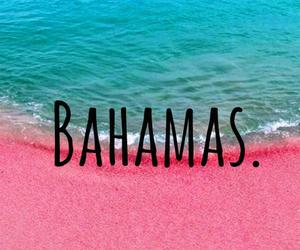 bahamas, sand, and love image