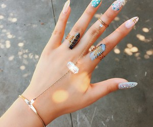 accessories, bohemian, and jewelry image