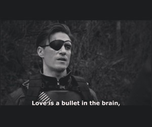 arrow, bullet, and love image