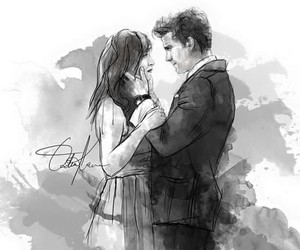 fifty shades of grey, christian grey, and draw image
